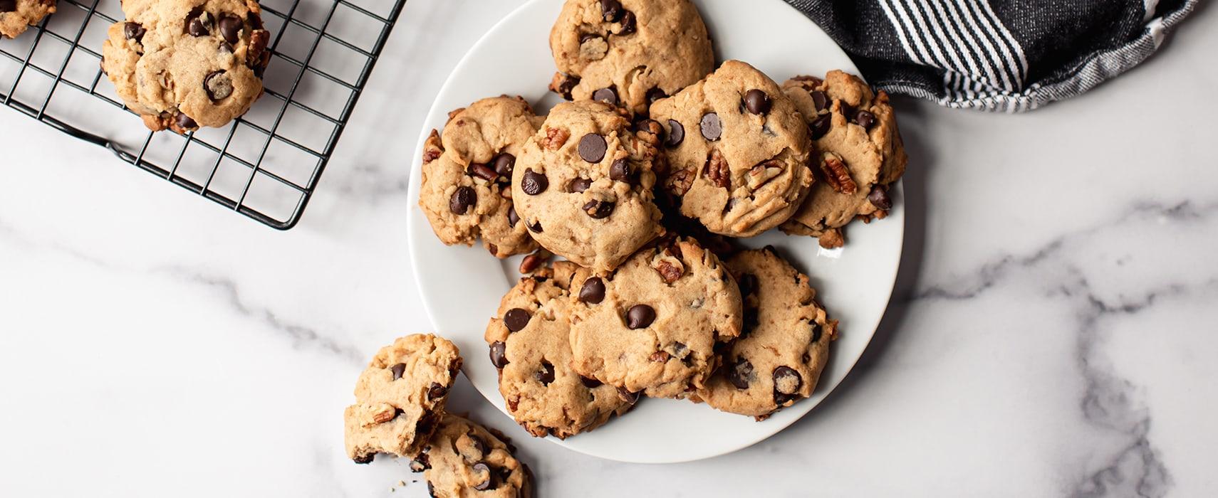 Cookies auf Teller