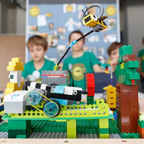 Info-Veranstaltung zur First Lego League Explore